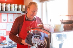 Paul Morris, Owner and Chief Chocolate Taster from Ramsbottom Chocolate Café