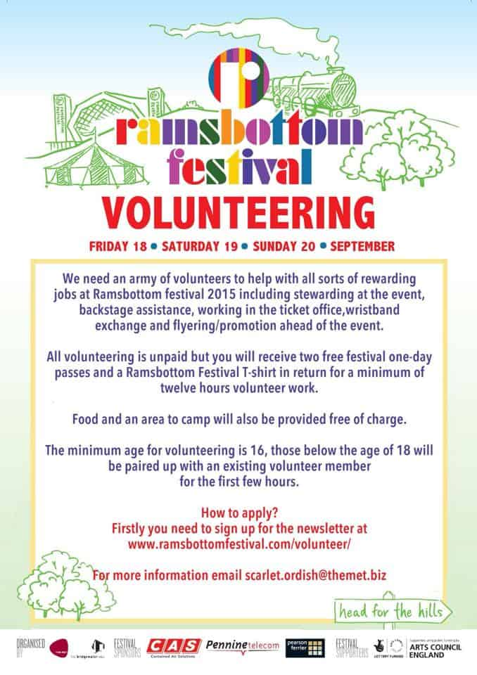 Ramsbottom Festival Volunteers