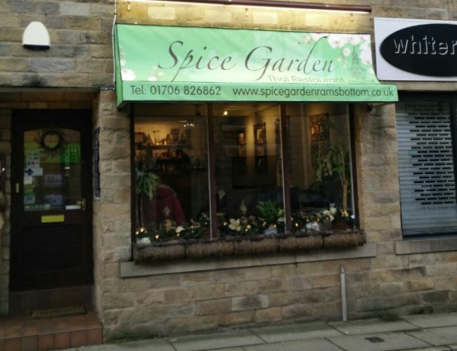 Spice Garden Thai Restaurant in Ramsbottom