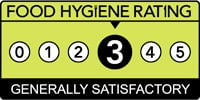 Food Hygiene Rating Three Star Logo