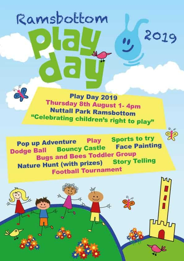 Ramsbottom Play Day - 2019 - This is Rammy